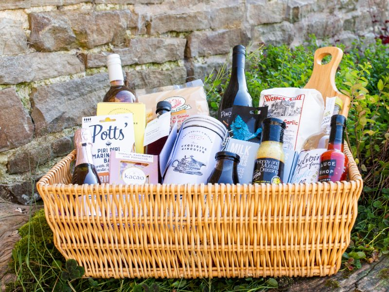 Purchase one of our Wensleydale Hampers
